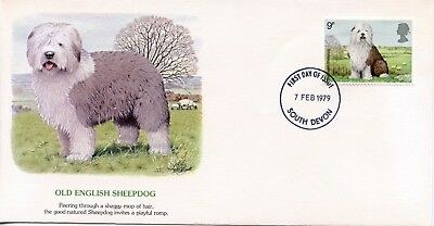 GREAT BRITAIN  1979 Dogs  OLD ENGLISH SHEEPDOG    FDC735