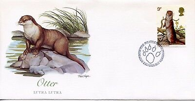 GREAT BRITAIN  1977  Wildlife Protection     FDC736