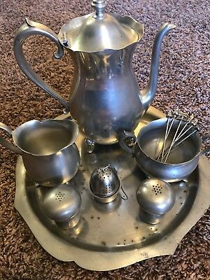 Plymouth Pewter Tea set
