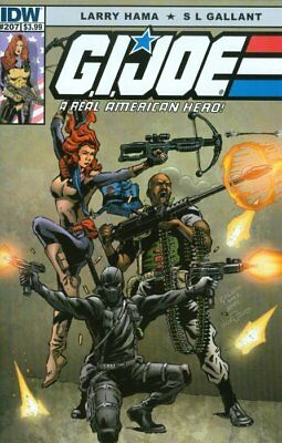 GI Joe A Real American Hero #207 Cover A IDW