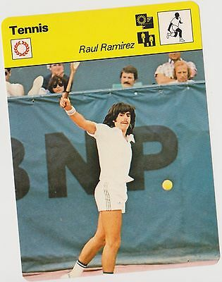 1979 Raul Ramirez Sportscaster Card #03 005 81-08 A Printing Nrmt-Mt From Cello