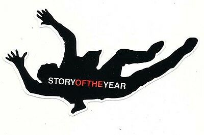 Story Of The Year Page Avenue RARE promo sticker '03