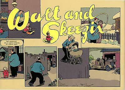 """""""Walt and Skeezix"""" by Frank O. King (1921 & 1922), collected comic strips"""