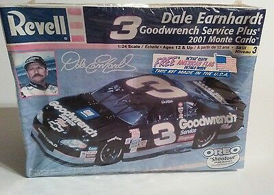 Revell Model Dale Earnhardt #3 Goodwrench Service Plus ©2001 Monte Carlo Sealed!