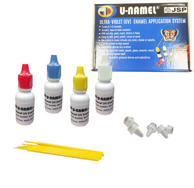 U-Namel Starter 3 Color Set (Red, Blue, Yellow and Clear)