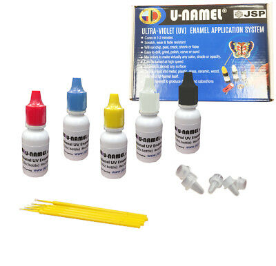 U-Namel Starter 5 Color Set (Red, Blue, Yellow, Black and Clear)