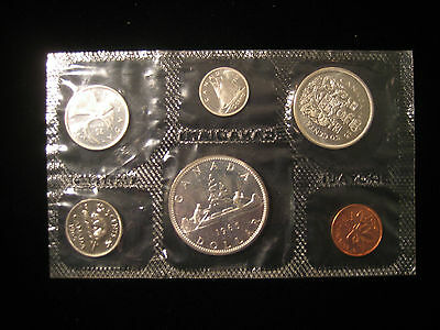 1965 Canada PROOF LIKE SET - Dollar, Quarter, Dime 80% Silver