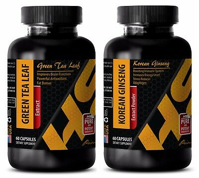 Weight loss products - GREEN TEA EXTRACT – KOREAN GINSENG COMBO - red maca root