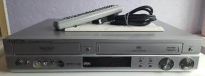 Samsung DVD-VR320, VHS Tape To DVD Recorder, VCR, Combo, + Remote & Instructions