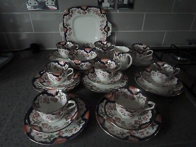 27 Piece Vintage Royal Stafford Tea