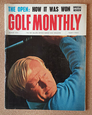 Magazine - GOLF MONTHLY 1970s Contents INDEX SHOWN - Various