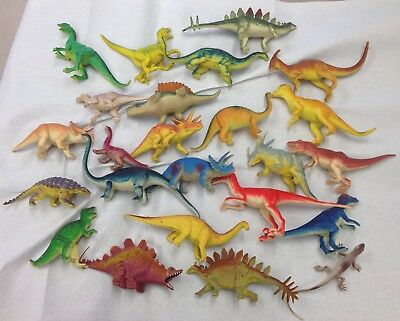 Grande Lotto  Dinosauri In Plastica,