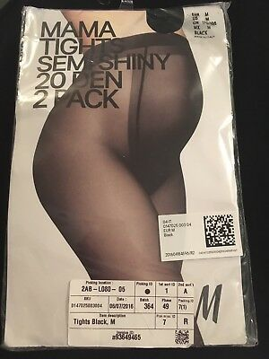 (143) H&M Mama Maternity Tights Size Medium