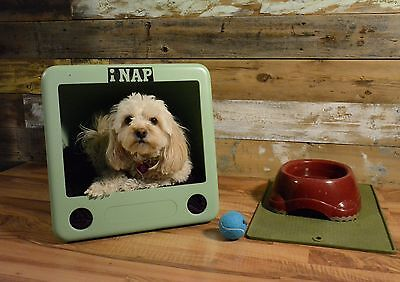 RECLAIMED/ REINVENTED DOG HOUSE CAT NAP BED eMAC COMPUTER