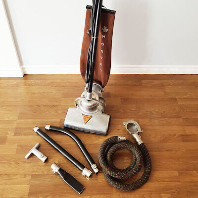 1929 Hoover Vacuum Cleaner Model 725, Working, With Attachments