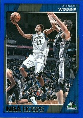 2016-17 PANINI NBA HOOPS BLUE PARALLEL - U PICK FROM LIST - #61 to #140