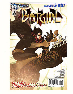 Batgirl #4 (2012, DC) FN/VF New 52 Adam Hughes Cover! Barbara Gordon