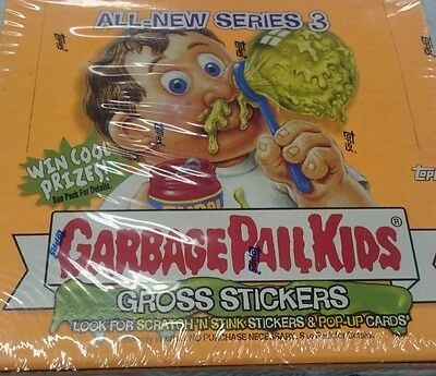 2004 Topps Garbage Pail Kids Cards/stickers Packs Series 3 Complete Set