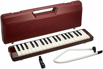 YAMAHA Pianica Maroon P-37D NEW Melodica Melodyhorn from Japan Free Shipping