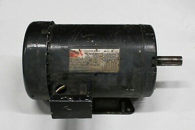 3N761A Dayton Electric Motor TEFC 3ph 3hp 145T frame 3500 RPM  208 230 460 3600