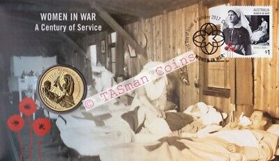 Australia - 2017 - Women In War A Centenary of Service PNC/FDC - Limited Edition