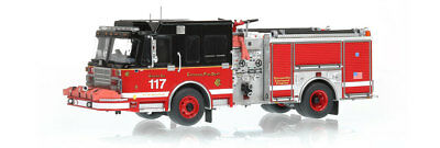 Chicago Fire Department Spartan Engine 117 1/50 Fire Replicas New FR024 Sold Out