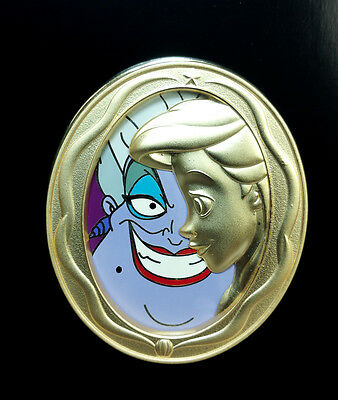 Disney Pin DUETS ARIEL & URSULA Little Mermaid with TIN 2016 Limited Edition