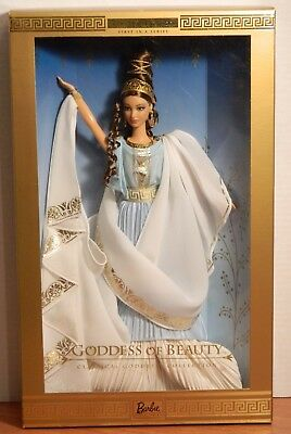 Barbie Goddess Of Beauty Classical Goddess Collection 1St In Series Nrfb!