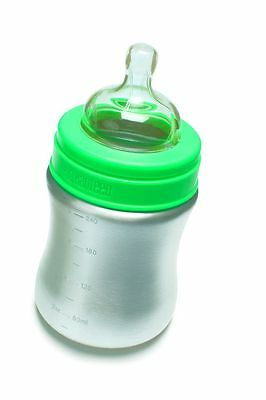 Klean Kanteen Baby Bottle Stainless Steel BPA Free 9 fluid ounces 267 ml