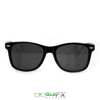 GloFX ULTIMATE Diffraction Glasses - Black Frame Tinted Lense - Australian Stock