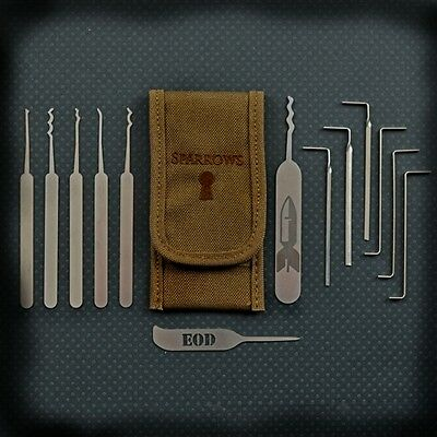 Sparrows - EOD Light Coyote - Locksmith Tool - Lock Pick Set - Locksport