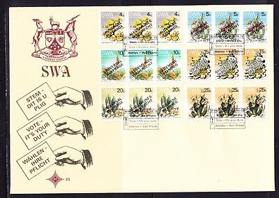 South West Africa 1978 Universal Suffrage Overpints  First Day Cover Large