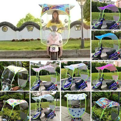 Universal Car Motor Scooter Umbrella Mobility Sun Shade&Rain Covers Waterproof