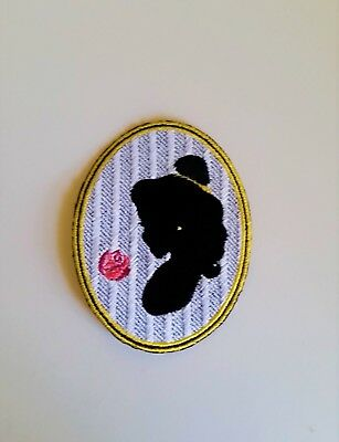 Disney Beauty and the Beast Inspired Belle Silhouette Patch