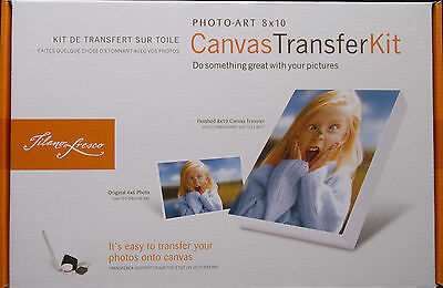 Tilano Fresco Canvas Transfer Kit 8x10 Photo Art New