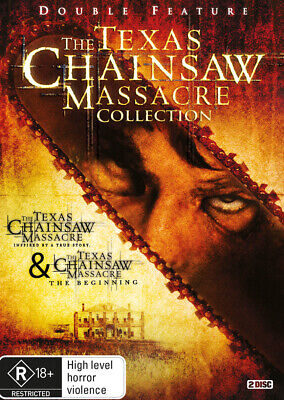 The Texas Chainsaw Massacre Collection DVD R4