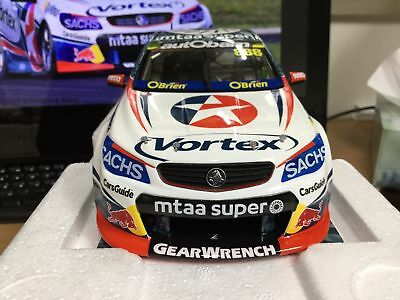 1:18 scale model car 2017 Craig Lowndes TeamVortex VF Commodore  #18633