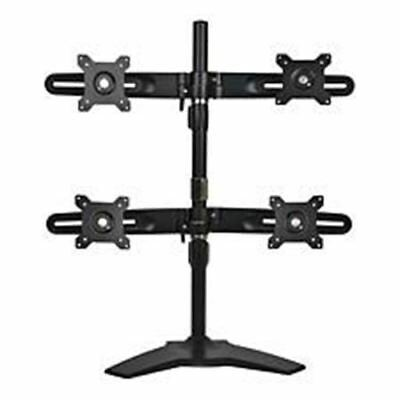 "Planar Quad Monitor Stand - Up to 24"" Screen Support - 12.02 kg Load Capacity -"