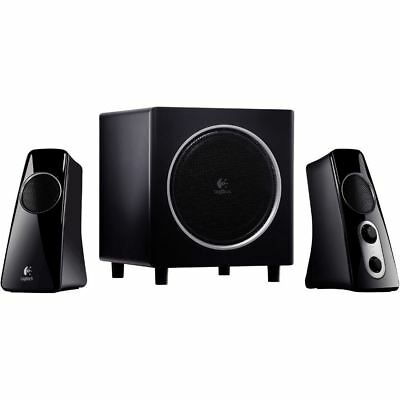 Logitech Z523 2.1 Speaker System - 40 W RMS - 35 Hz - 20 kHz - iPod Supported (9