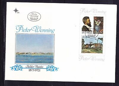 South Africa 1980 Pieter Wenning  MS First Day Cover Large