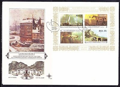South Africa 1980 National Gallery MS First Day Cover Large