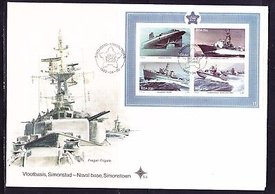 South Africa 1982 Naval Base, Simonstown MS  First Day Cover Large
