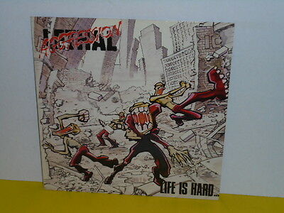 Lp - Lethal Aggression - Lfe Is Hard ( Rotes Vinyl )