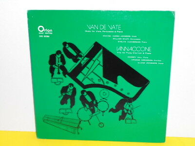 Lp - Van De Vate Music For Viola, Percussion & Piano - Iannaccone Trio For Flute