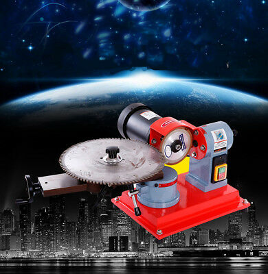 Electric Circular Saw Blade Grinder Heavy Duty Rotary Angle Mill Sharpener 220V