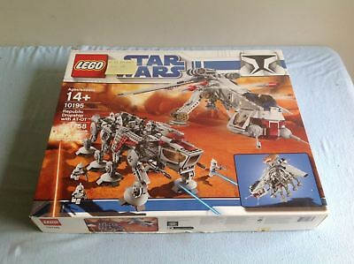 Lego Star Wars 10195 Republic Dropship with AT-OT BOX ONLY **Free Shipping**