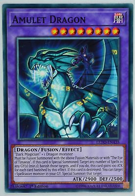 ( AMULET DRAGON ) - Common - LEDD-ENA35 - 1st - NM - Yu-Gi-Oh Legendary Dragon