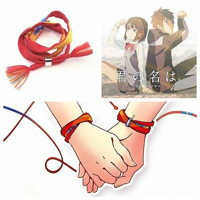 ONE movie Kimi no Na wa Your Name Miyamizu Mitsuha Bracelet Jewelry Gift Cosplay