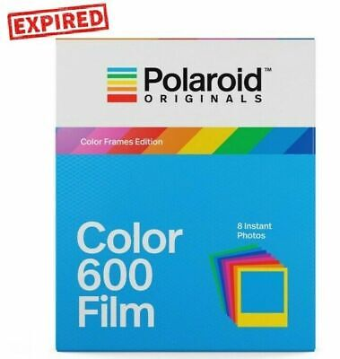 EXPIRED -  Polaroid Originals COLOR FRAMES instant film for 600 660 636 OneStep