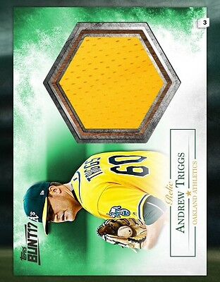 TOPPS DIGITAL Bunt 17 Card Trader: Relics Series: Andrew Triggs/Yellow Jersey -